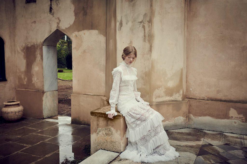 Victorian Wedding Gown Rosetta Bridal Gowns Costarellos