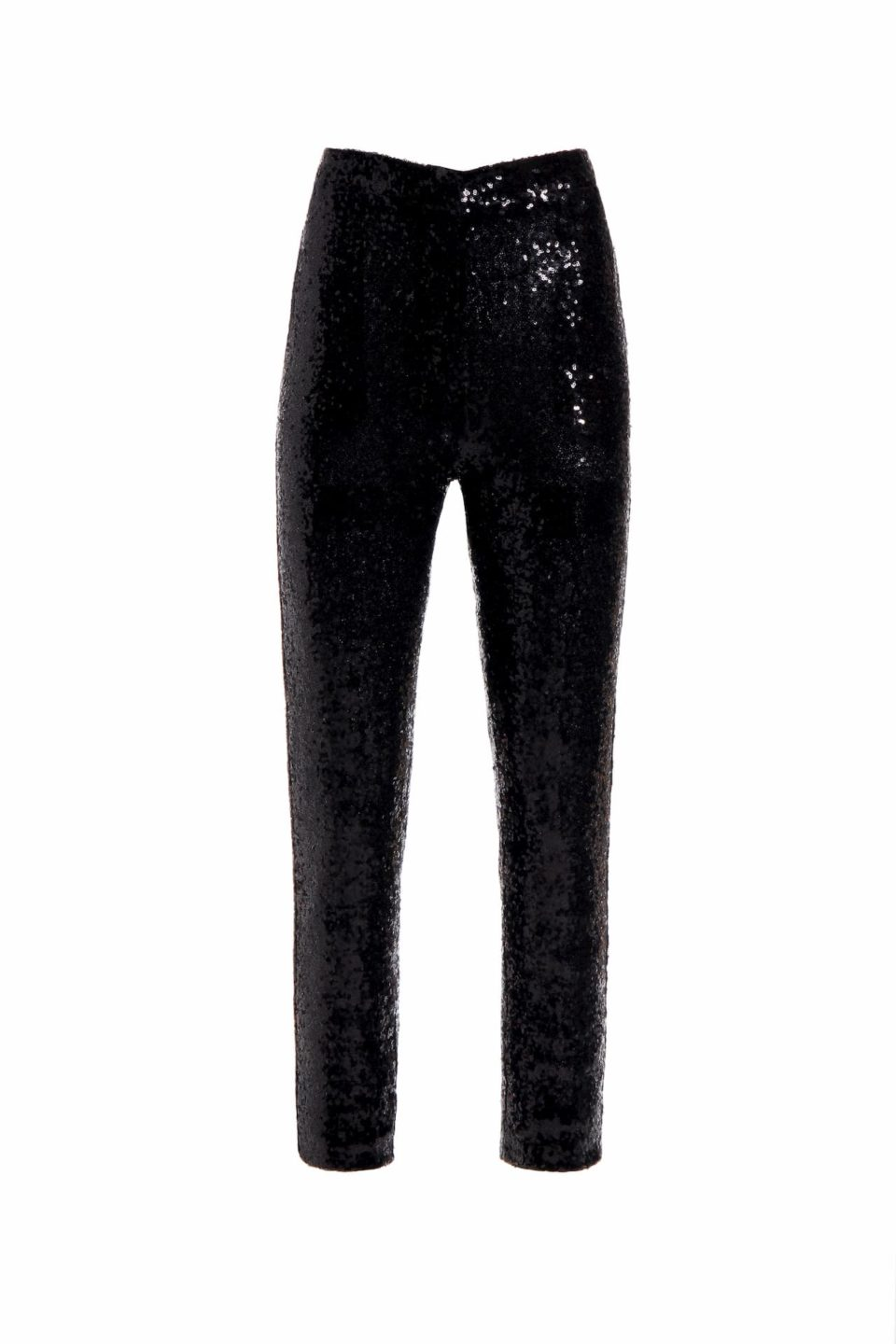 Kela black sequin cigarette trousers PS 2027