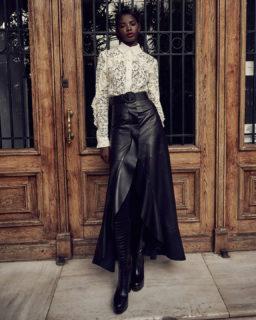 Kanna PR2116 Corded Lace Shirt , Stelissa PR2153 Skirt