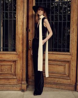 PR2146 Mellie Cotton velvet vest, PR2147 Juleen Cotton Velvet Trousers