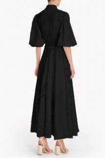 Pavlina Cotton-Linen Lace Shirtdress
